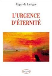L'Urgence D'Eternite - Couverture - Format classique