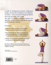 Chakras ; exercices pratiques - 4ème de couverture - Format classique