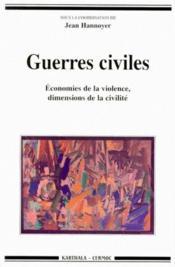 Guerres Civiles - Couverture - Format classique