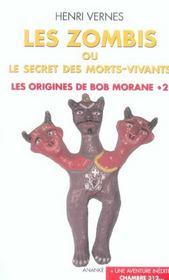 Les origines de Bob Morane t.2 ; les zombis ou le secret des morts vivants ; chambre 312 - Intérieur - Format classique
