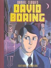 David Boring - Intérieur - Format classique