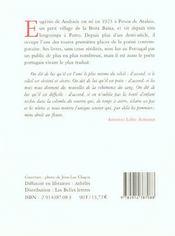 Lieux Du Feu - 4ème de couverture - Format classique