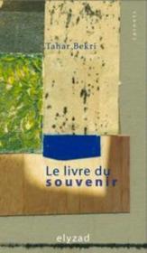 Le livre du souvenir - Couverture - Format classique