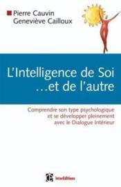 L'intelligence de soi... et de l'autre - Couverture - Format classique