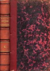 Histoire Des Girondins, Tome Vi - Couverture - Format classique