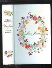 Don Juan ou la Vie de Byron - Couverture - Format classique