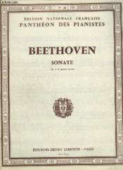 Sonate - Op.6 Pour Piano A 4 Mains. - Couverture - Format classique
