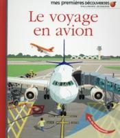 Le voyage en avion - Couverture - Format classique