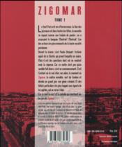 Zigomar t.1 - 4ème de couverture - Format classique
