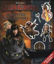 Dreamworks ; dragons ; activités explosives - Couverture - Format classique