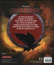 Dreamworks ; dragons ; activités explosives - 4ème de couverture - Format classique