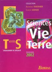 Svt term s spec 2002 - Intérieur - Format classique