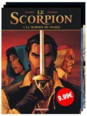 Le scorpion ; t.1 à t.3 - Couverture - Format classique