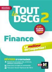 Tout le DSCG 2 ; finance - Couverture - Format classique