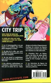GUIDE PETIT FUTE ; CITY TRIP ; Madrid (édition 2021/2022) - 4ème de couverture - Format classique
