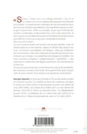 Histoire de la fatigue, du Moyen Age à nos jours - 4ème de couverture - Format classique