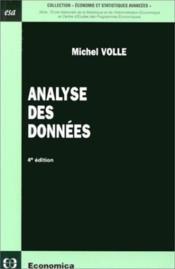 Analyse Des Donnees (4e Edition) - Couverture - Format classique