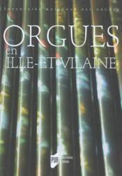 Orgues en Ille-et-vilaine - Couverture - Format classique