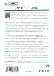 Java In A Nutshell ; 4e Edition - 4ème de couverture - Format classique