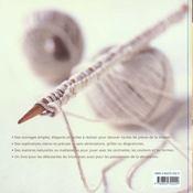 Tricot Pour La Decoration - 4ème de couverture - Format classique