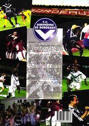 Success Story Les Girondins De Bordeaux Fc 95/96 98/99 - 4ème de couverture - Format classique