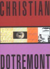 Christian Dotremont - 4ème de couverture - Format classique