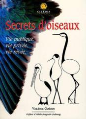 Secrets D'Oiseaux - Couverture - Format classique
