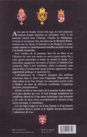Charles et zita - 4ème de couverture - Format classique