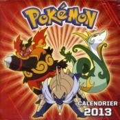 Calendrier Pokémon 2013 - Couverture - Format classique