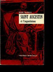 Saint Augustin Et L Augustinisme - Couverture - Format classique