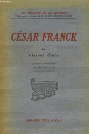 Cesar Franck - Couverture - Format classique