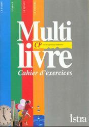 Multi Livre Decouverte Du Monde Cp ; Cahier D'Exercices - Intérieur - Format classique