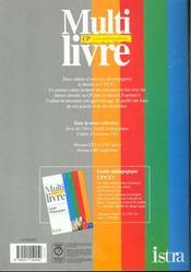 Multi Livre Decouverte Du Monde Cp ; Cahier D'Exercices - 4ème de couverture - Format classique