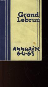 Annuaire 1964 - 1965 - Couverture - Format classique