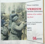 Verdun, années infernales - Couverture - Format classique