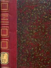PORTRAITS CONTEMPORAINS (De Lamartine, A. Dumas Père et Fils, Barbey d'Aurevilly, De Saint Georges, A. Karr, P. Lacroix (Bibliophile Jacob), A. de Vigny, Roger de Beauvoir, Gavarni, Méry, A. de la Guéronnière, Ponsard...) - Couverture - Format classique