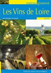 Les vins de Loire - Couverture - Format classique