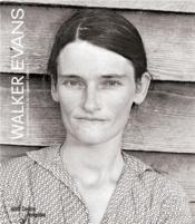 Walker Evans ; catalogue exposition - Couverture - Format classique