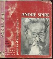 Andre Spire - Collection Poetes D'Aujourd'Hui N°84 - Couverture - Format classique