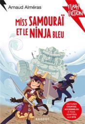 Miss samouraï et le ninja bleu - Couverture - Format classique