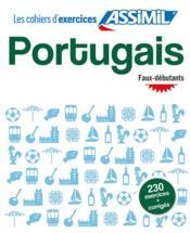 Portugais ; faux-débutants (édition 2019) - Couverture - Format classique
