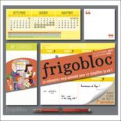 Frigobloc hebdomadaire ; calendrier d'organisation familiale / semaine (sept. 2019 -dec. 2020) (édition 2019/2020) - Couverture - Format classique