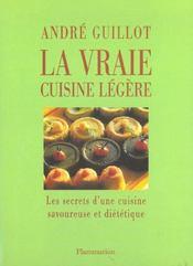 La Vraie Cuisine Legere - Intérieur - Format classique