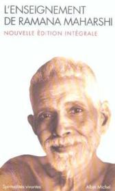 L'enseignement de ramana maharshi - nouvelle edition integrale - Couverture - Format classique