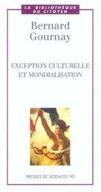 Exception culturelle et mondialisation - Intérieur - Format classique