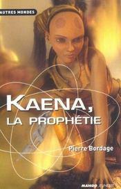 Kaena La Prophetie - Intérieur - Format classique
