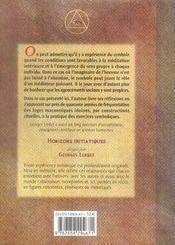 L'Experience Du Symbole - 4ème de couverture - Format classique