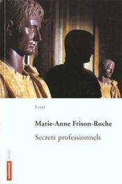 Les Secrets Professionnels - Intérieur - Format classique