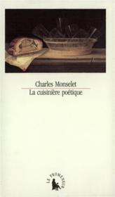 La Cuisiniere Poetique - Couverture - Format classique