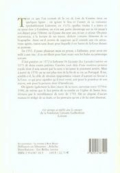 Poesie lyrique - 4ème de couverture - Format classique